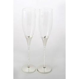 Taurės proginės (šampanui) 2 vnt.