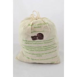 Soap nuts 1kg in the cloth packaging