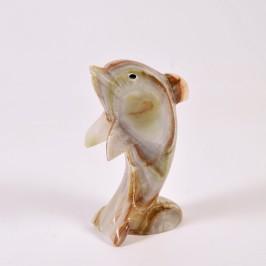 Onyx Souvenir dolphin, 20cm