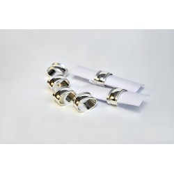 Nakpin rings, 6pcs