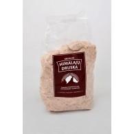 Smulki Himalajų rožinė druska maišelyje- 500 gr