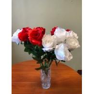 Rožė iš satino (53cm)