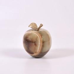 Onikso suvenyras didelis obuolys