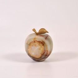 Onikso suvenyras mažas obuolys