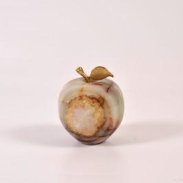 Сувенирное маленькое яблоко из оникса
