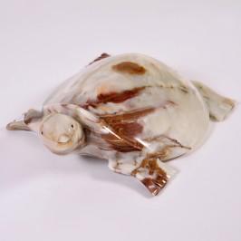 Сувенир черепаха из оникса, 30cm