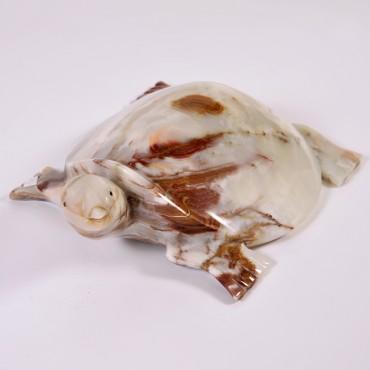 Onikso suvenyras vėžlys, 30cm
