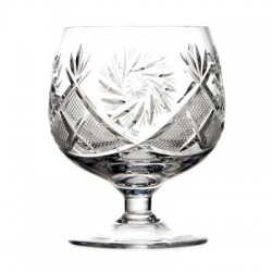A set of wine glasses, 6 pcs