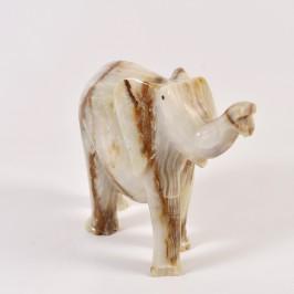 Сувенир слон из оникса