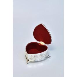 Papuošalų dėžutė-širdelė